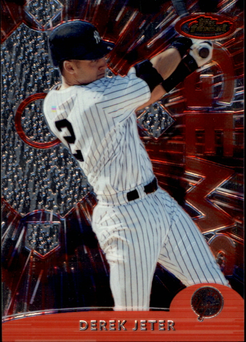 2000 Finest Pre-Production #PP5 Derek Jeter GEM