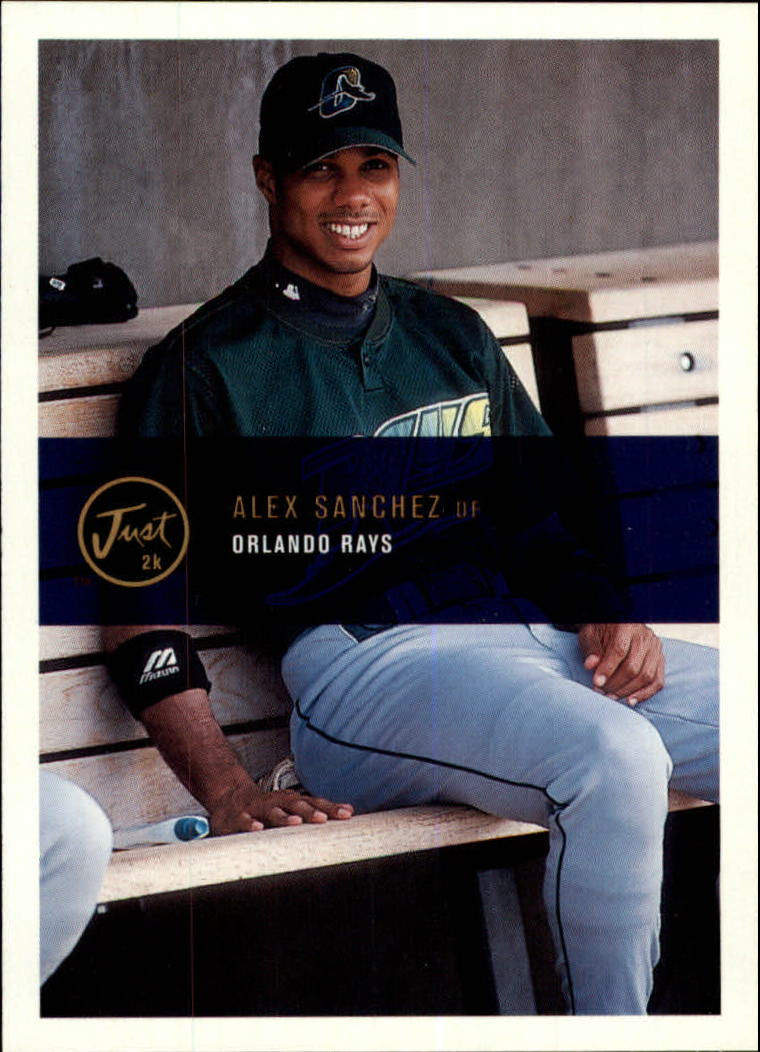 2000 Just #86 Alex Sanchez