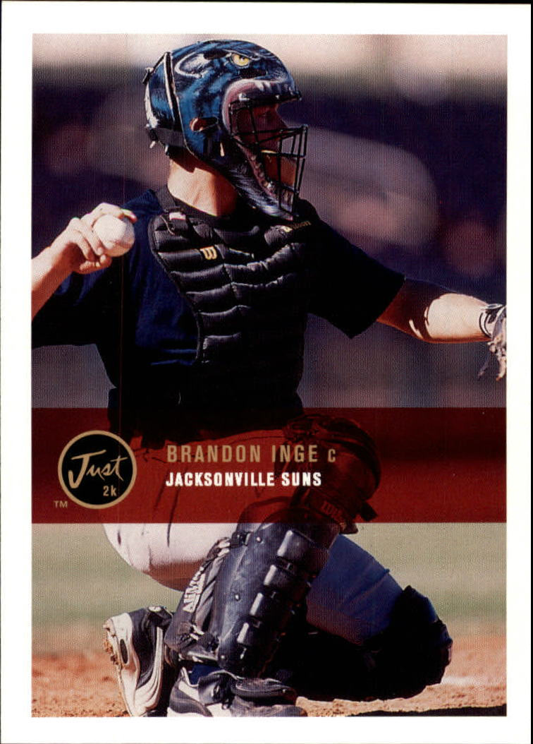2000 Just #142 Brandon Inge