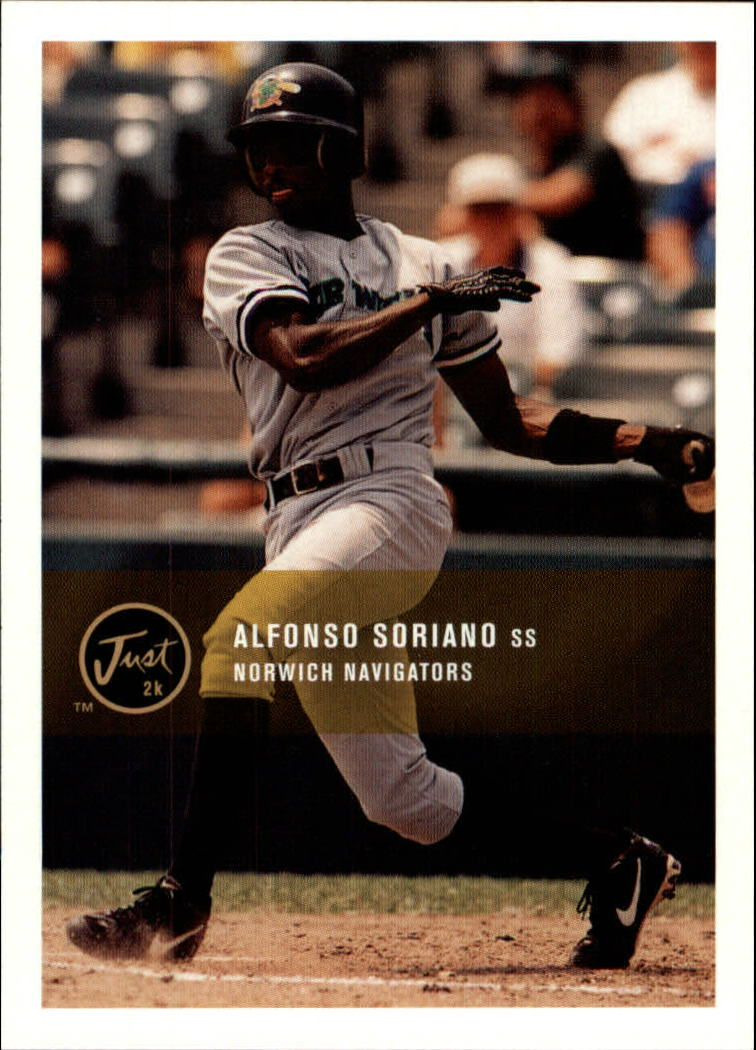2000 Just #193 Alfonso Soriano