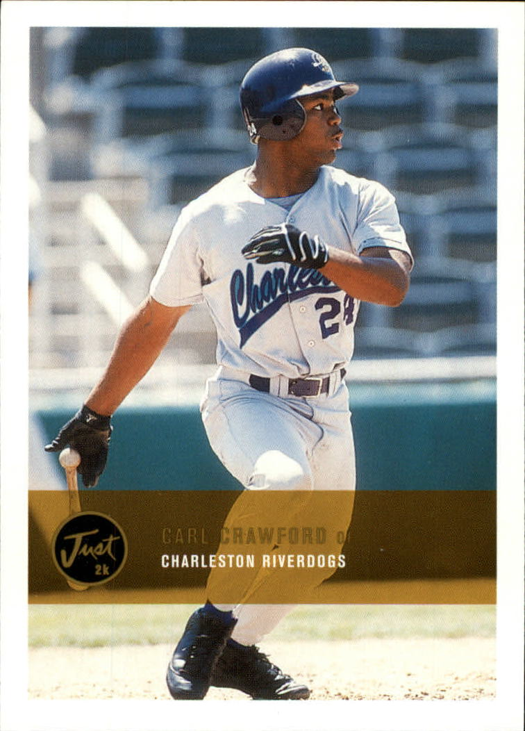 2000 Just #223 Carl Crawford