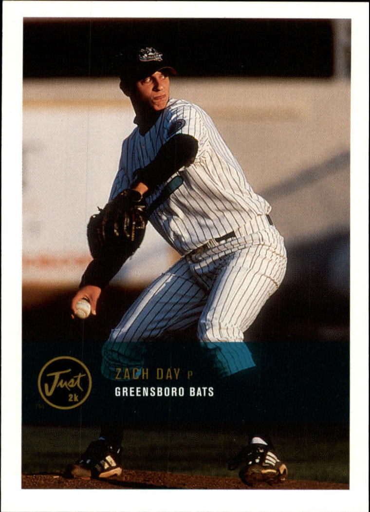 2000 Just #227 Zach Day