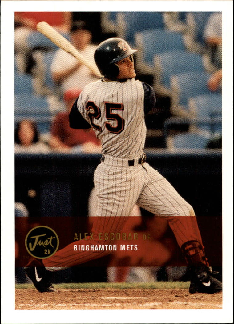 2000 Just #229 Alex Escobar