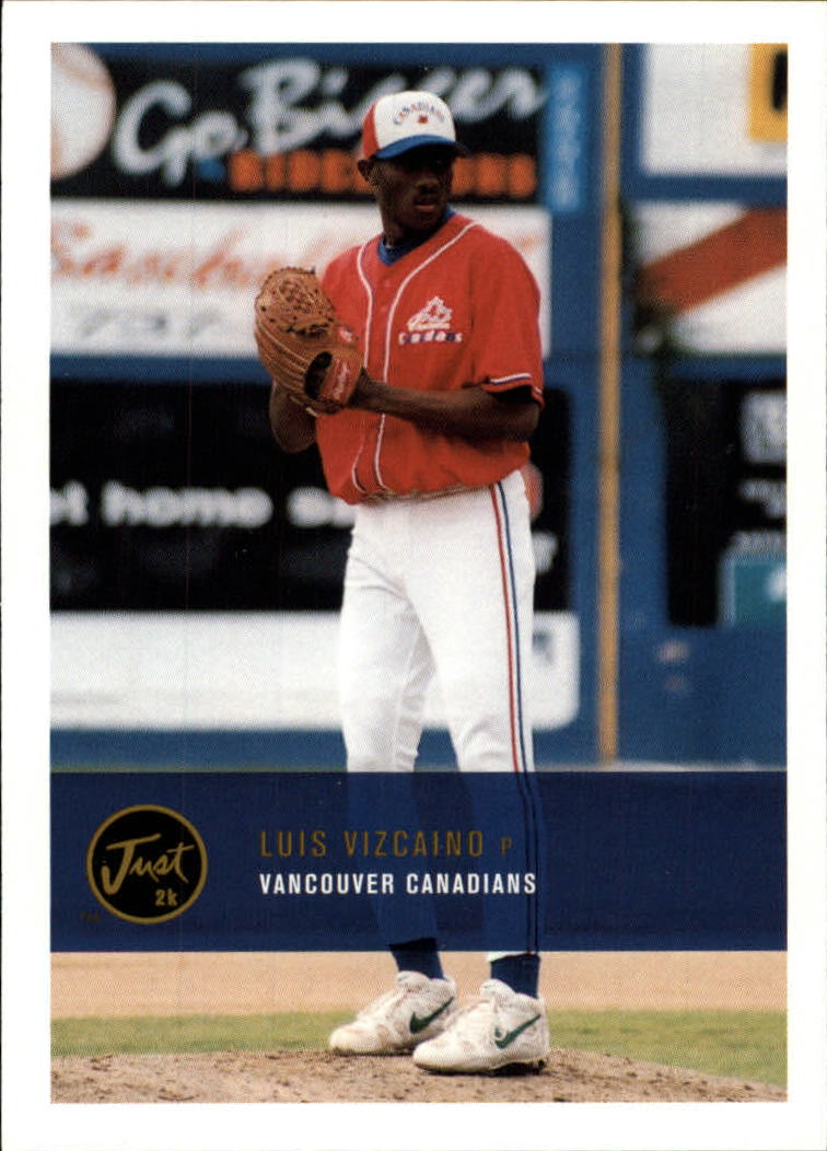 2000 Just #290 Luis Vizcaino