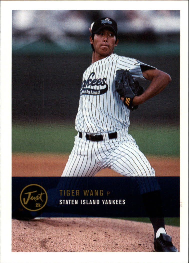 2000 Just #293 Tiger Wang