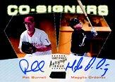 2000 Stadium Club Co-Signers #CO9 Pat Burrell/Magglio Ordonez C