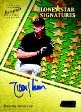2000 Stadium Club Lone Star Signatures #LS5 Randy Johnson G2
