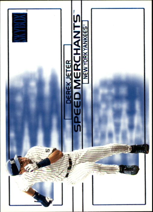 2000 SkyBox Speed Merchants #SM1 Derek Jeter