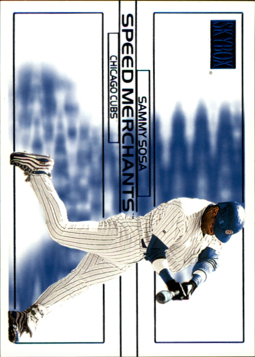 2000 SkyBox Speed Merchants #SM2 Sammy Sosa
