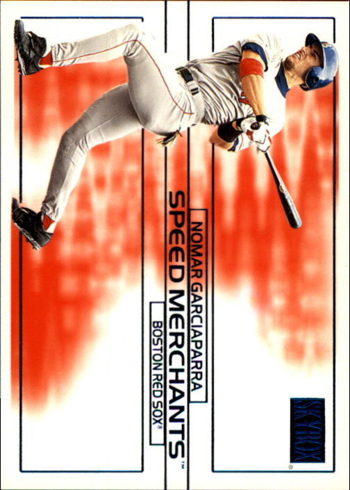 2000 SkyBox Speed Merchants #SM3 Nomar Garciaparra