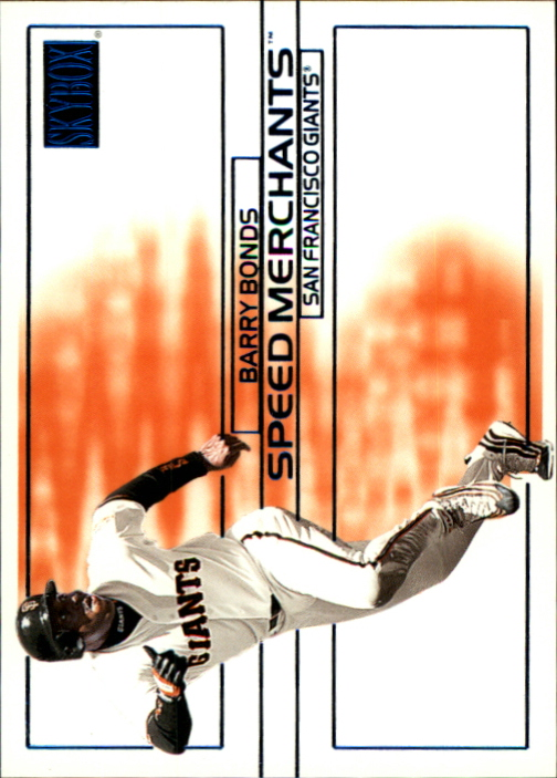 2000 SkyBox Speed Merchants #SM9 Barry Bonds