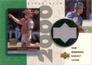 2000 Upper Deck Game Jersey Patch #PIR Ivan Rodriguez 2