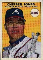 2000 Fleer Twizzlers #3 Chipper Jones