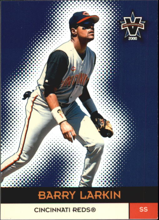 2000 Vanguard #62 Barry Larkin