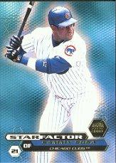 2000 Aurora Star Factor #4 Sammy Sosa