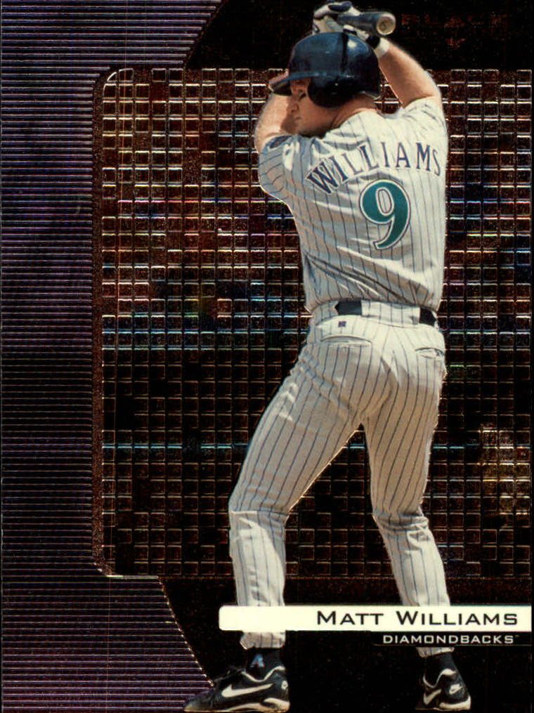 2000 Black Diamond #4 Matt Williams