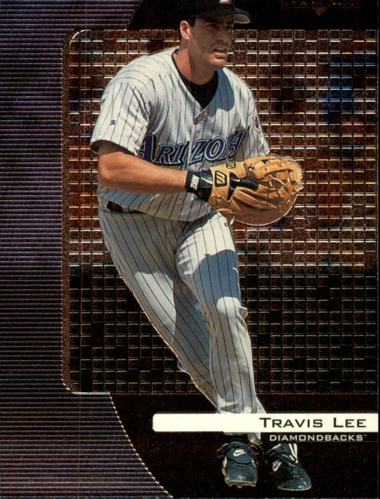 2000 Black Diamond #5 Travis Lee front image