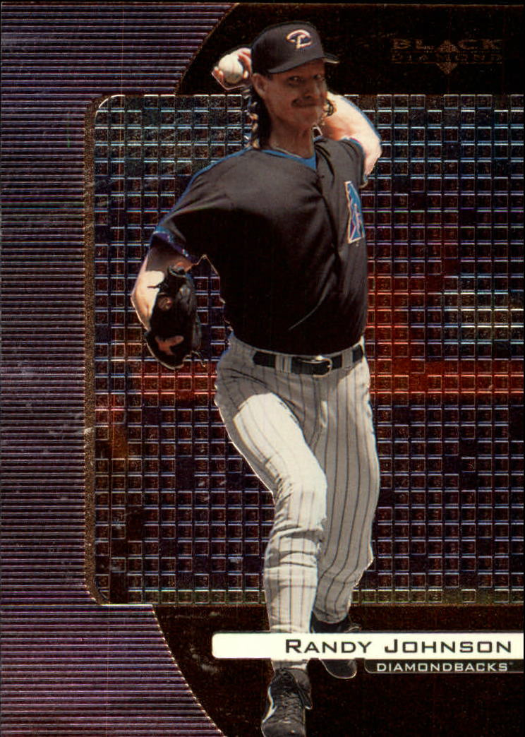 2000 Black Diamond #6 Randy Johnson