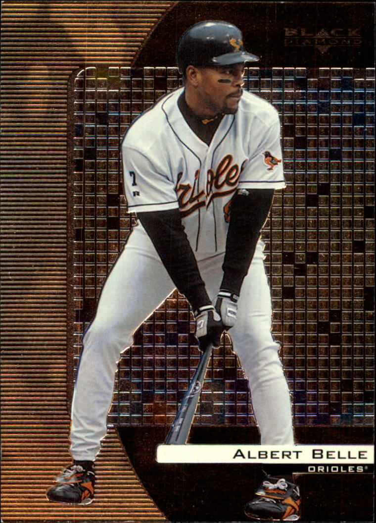 2000 Black Diamond #13 Albert Belle front image
