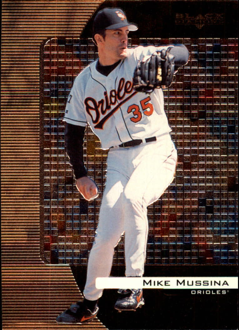 2000 Black Diamond #14 Mike Mussina