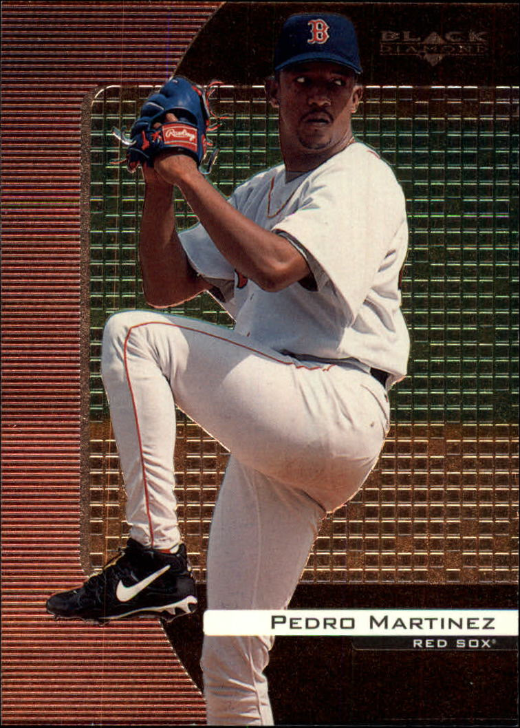 2000 Black Diamond #17 Pedro Martinez front image