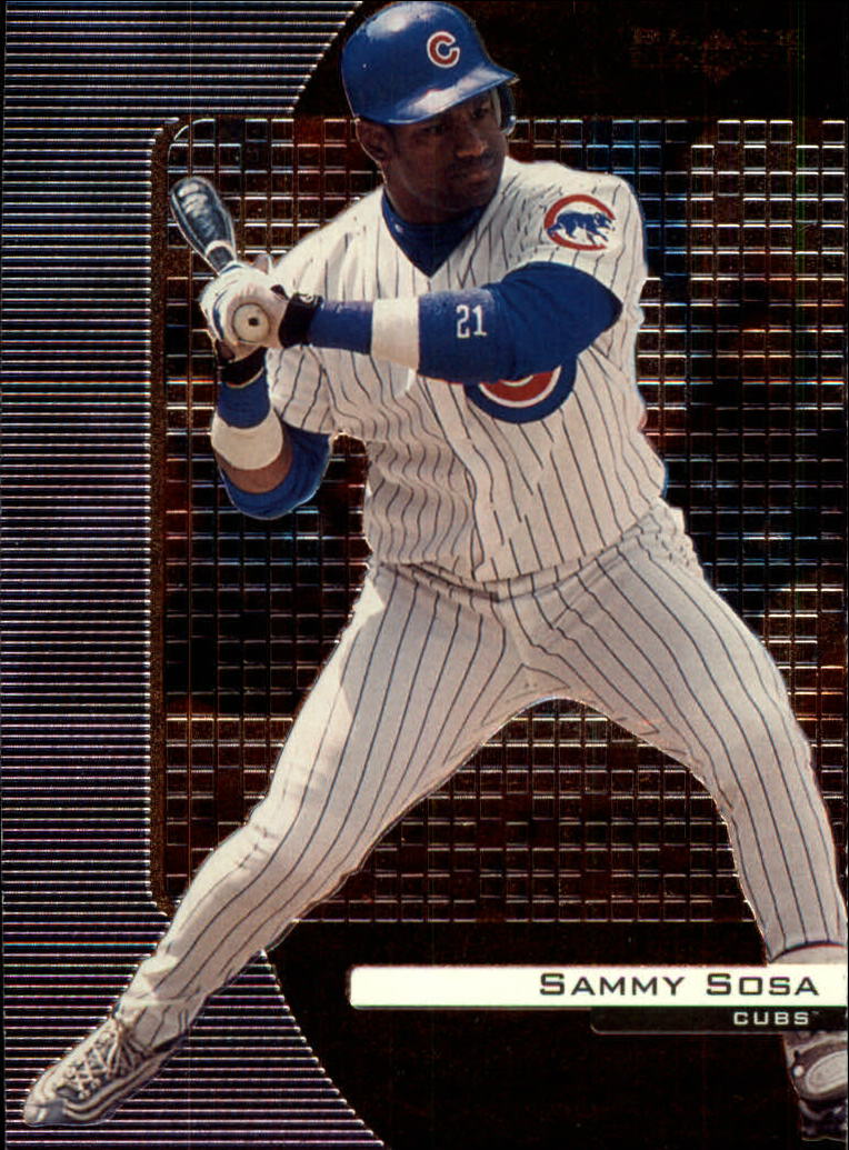 2000 Black Diamond #18 Sammy Sosa
