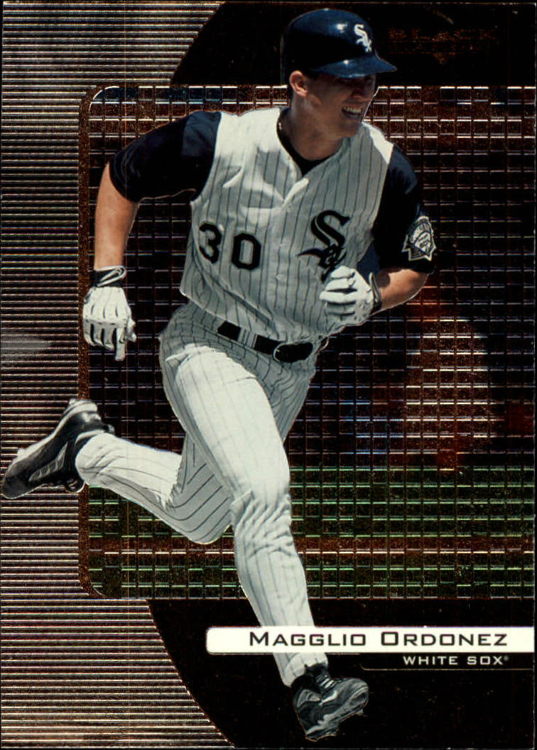 2000 Black Diamond #21 Magglio Ordonez