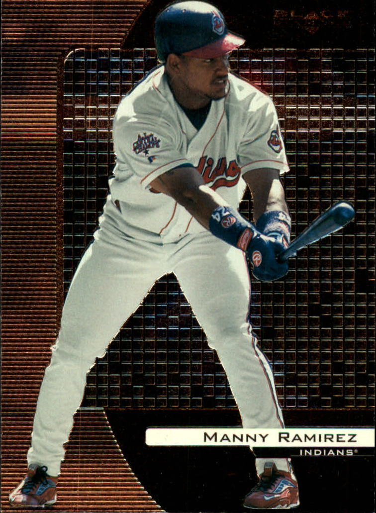 2000 Black Diamond #28 Manny Ramirez
