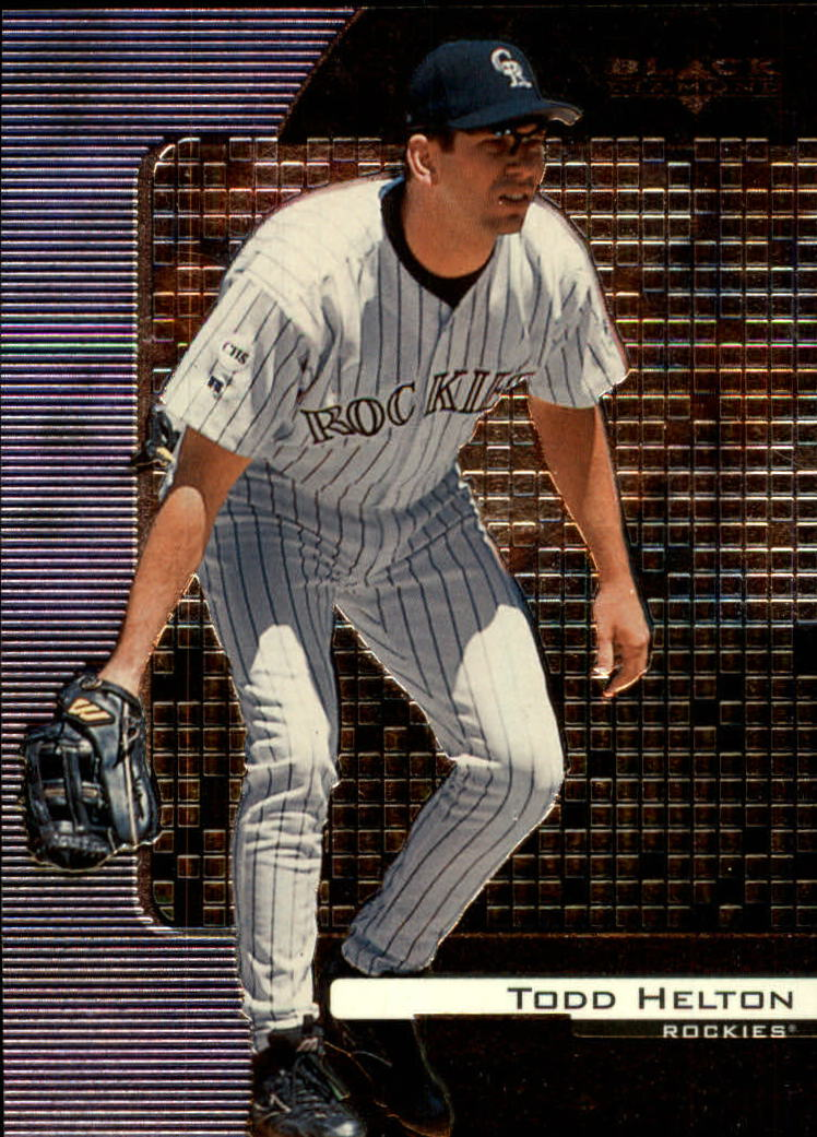 2000 Black Diamond #30 Todd Helton