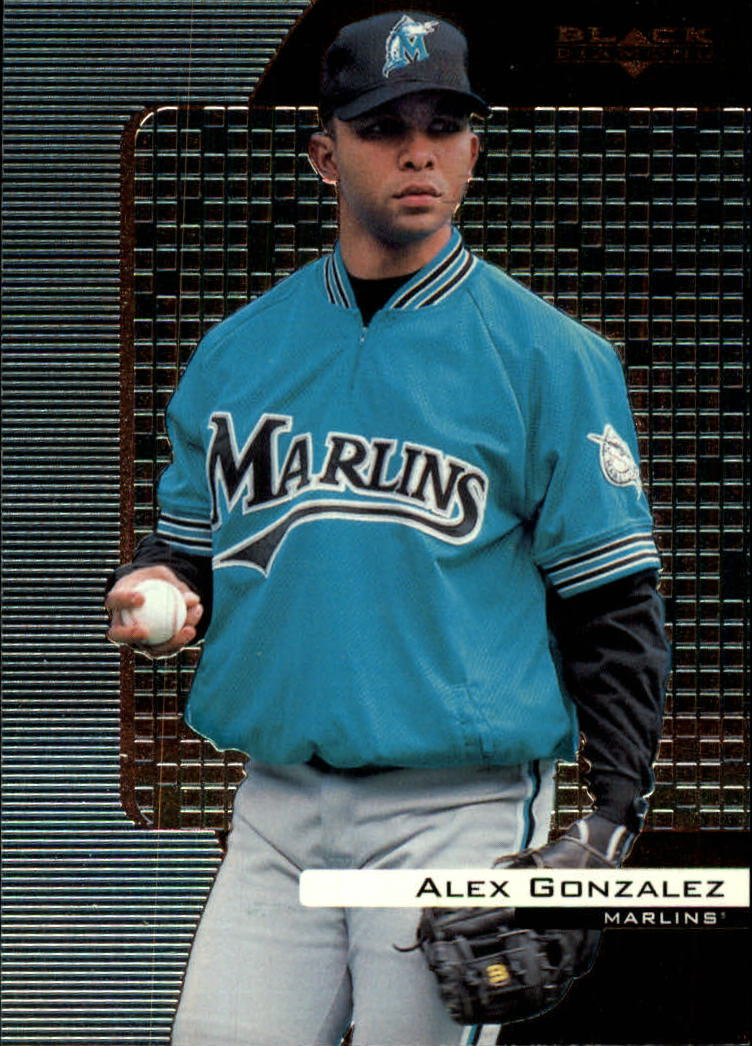 2000 Black Diamond #35 Alex Gonzalez
