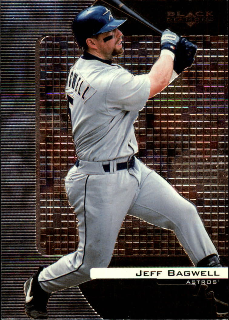 2000 Black Diamond #37 Jeff Bagwell