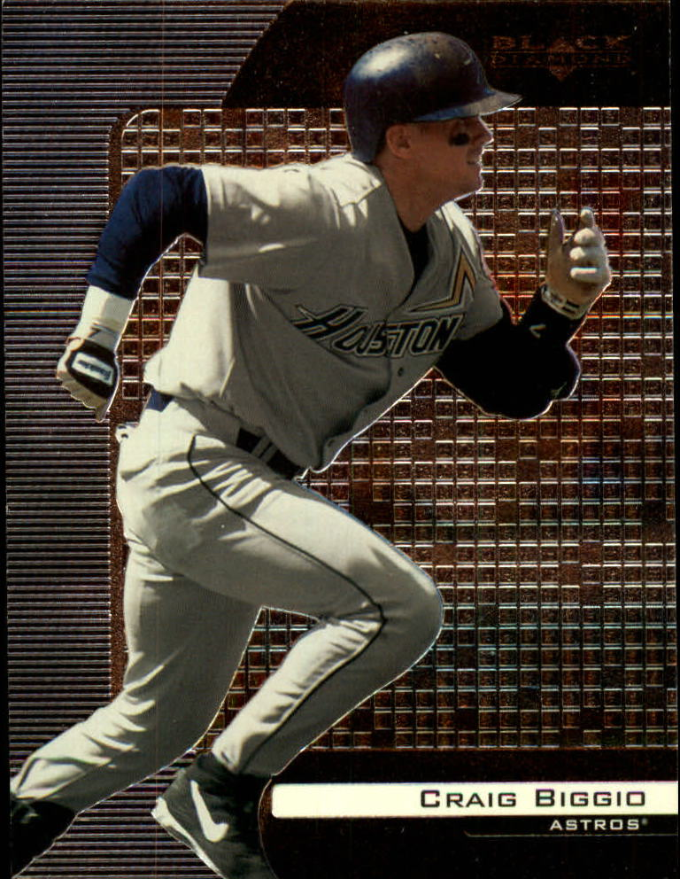 2000 Black Diamond #38 Craig Biggio