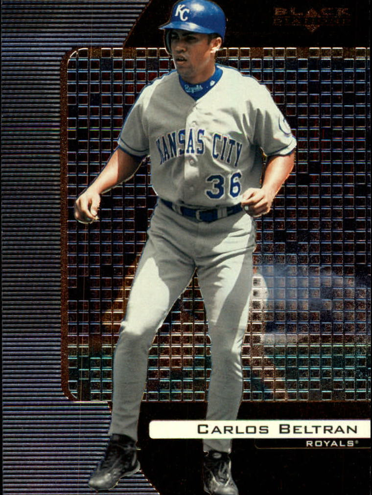 2000 Black Diamond #40 Carlos Beltran