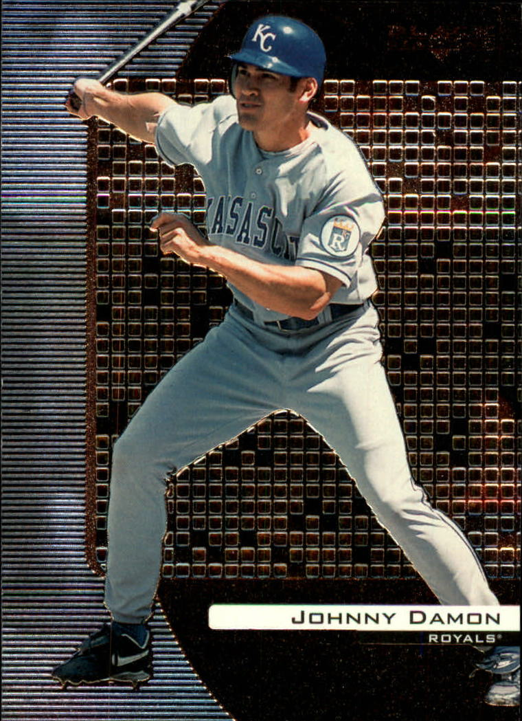 2000 Black Diamond #41 Johnny Damon