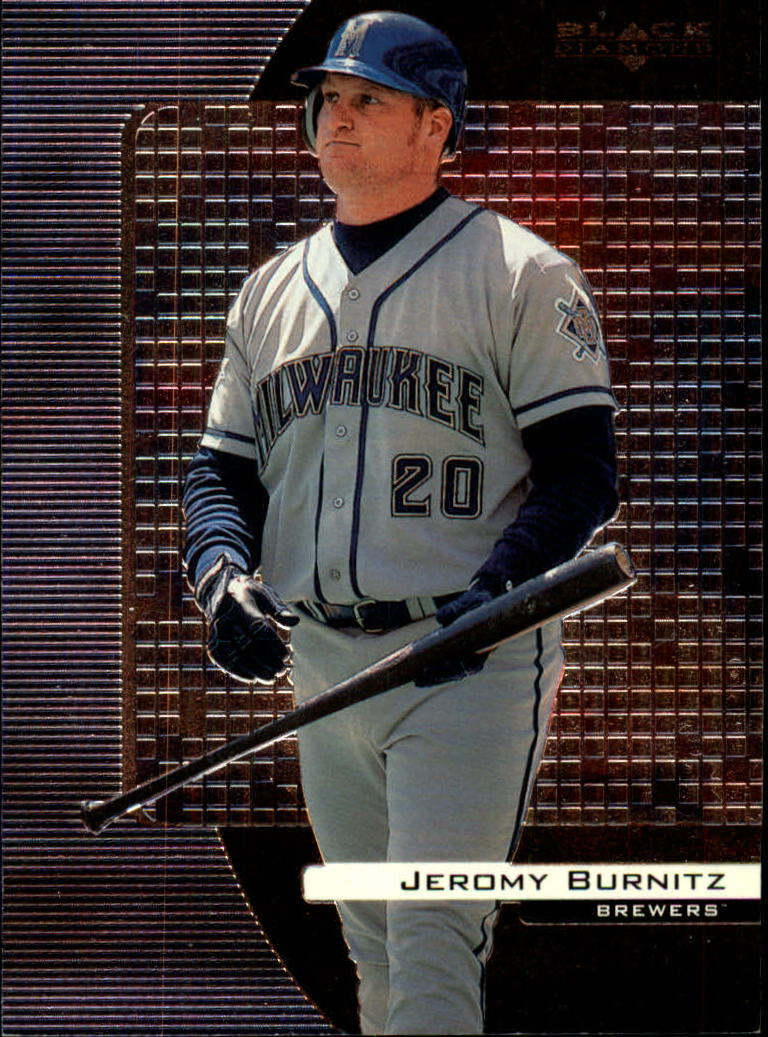 2000 Black Diamond #45 Jeromy Burnitz
