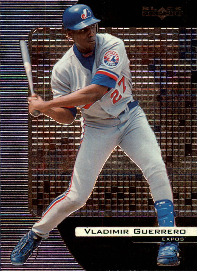 2000 Black Diamond #49 Vladimir Guerrero