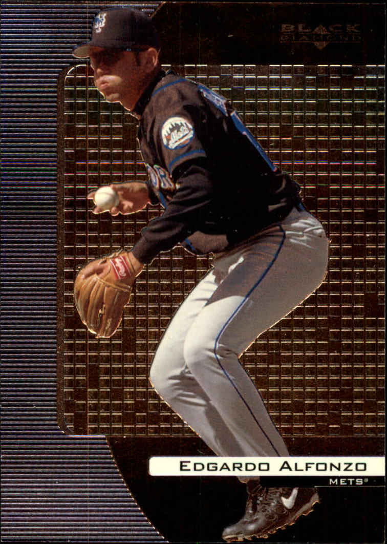 2000 Black Diamond #55 Edgardo Alfonzo