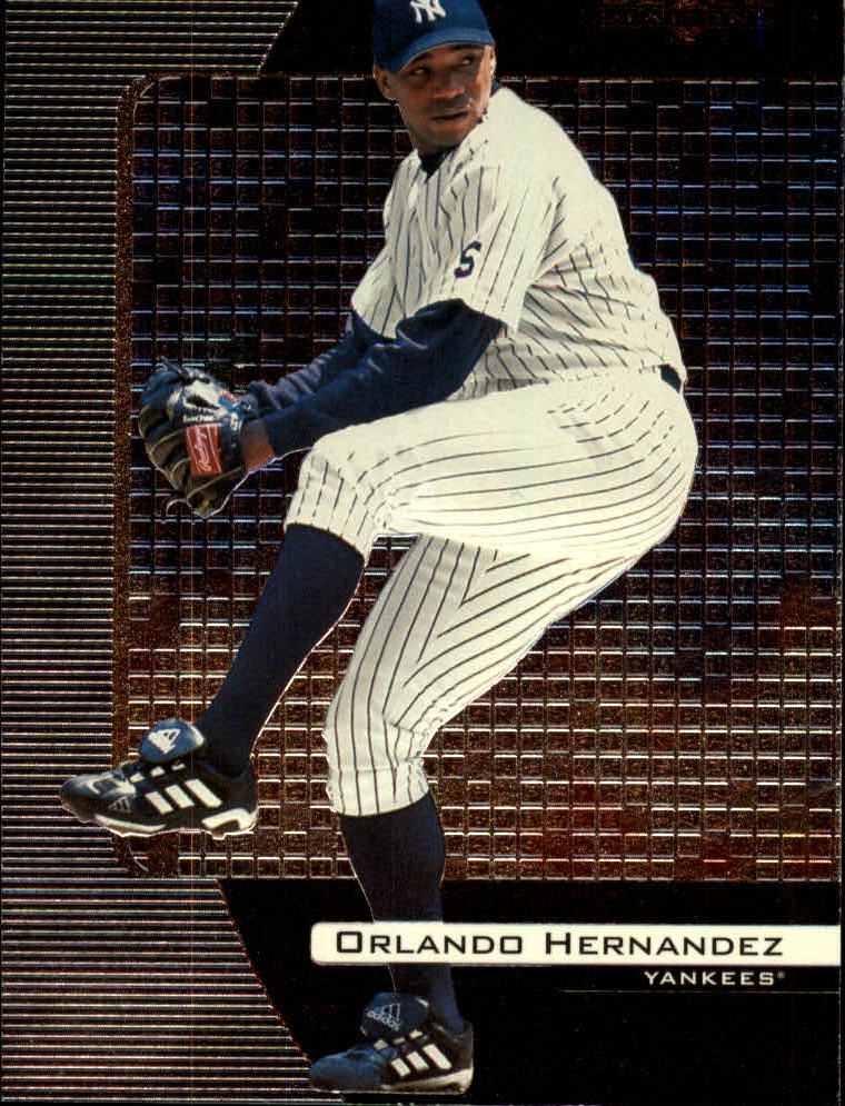 2000 Black Diamond #57 Orlando Hernandez