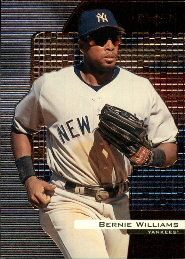 2000 Black Diamond #59 Bernie Williams