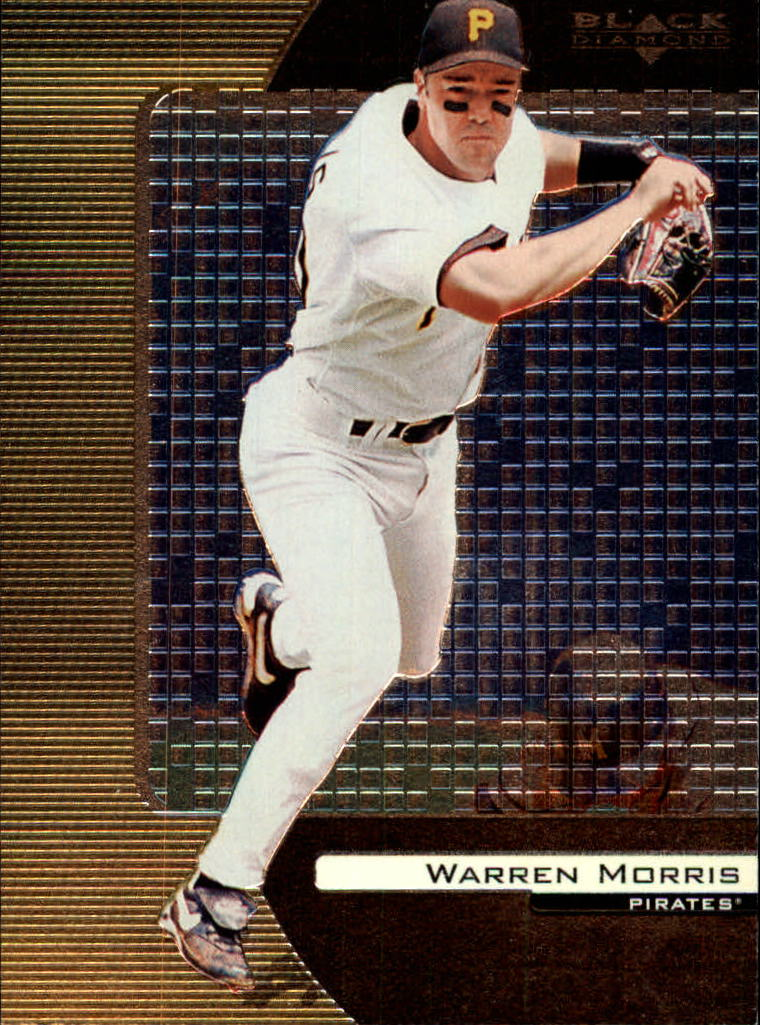 2000 Black Diamond #68 Warren Morris