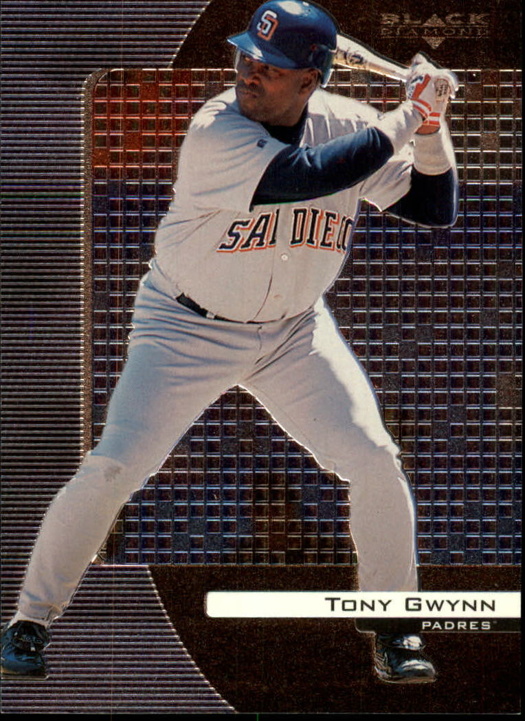 2000 Black Diamond #71 Tony Gwynn