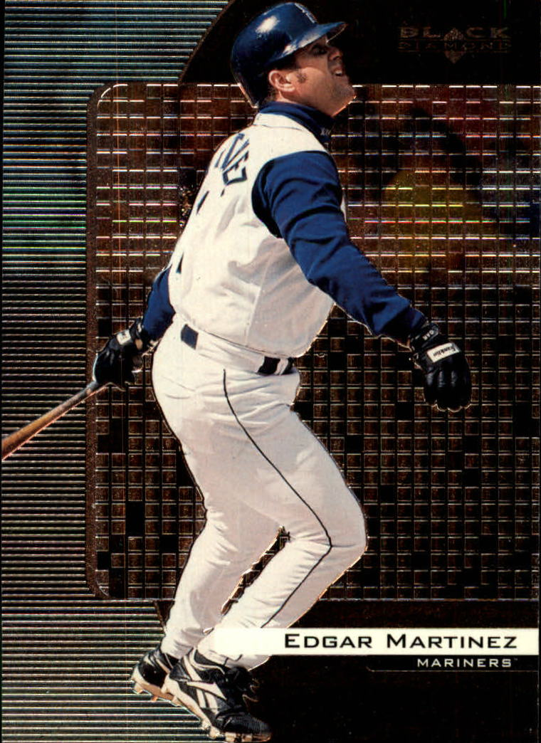 2000 Black Diamond #78 Edgar Martinez