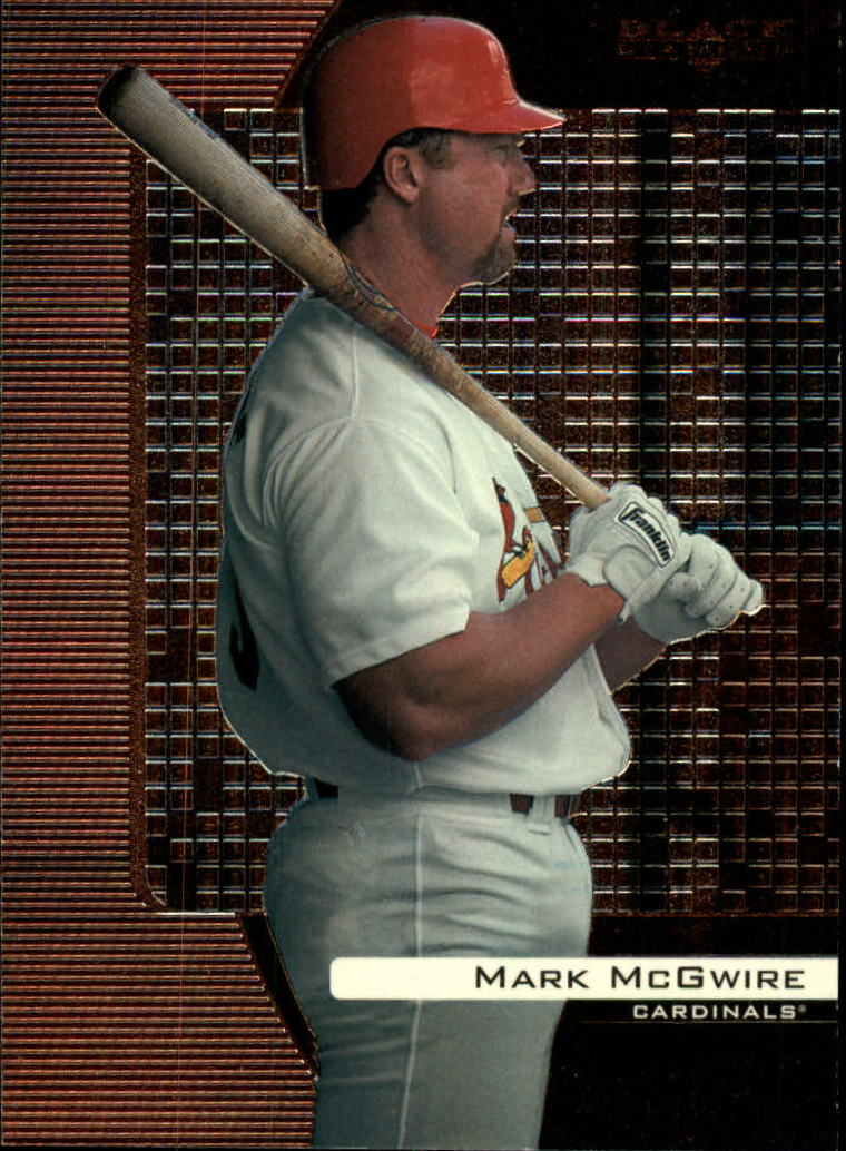 2000 Black Diamond #80 Mark McGwire