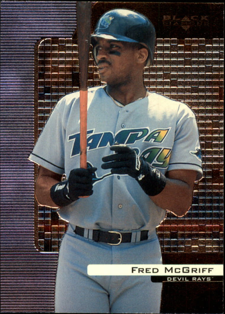 2000 Black Diamond #85 Fred McGriff