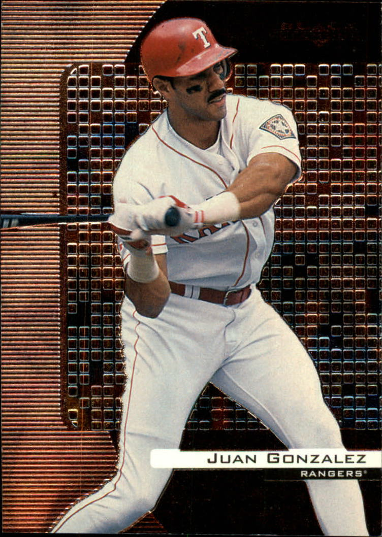 2000 Black Diamond #86 Juan Gonzalez