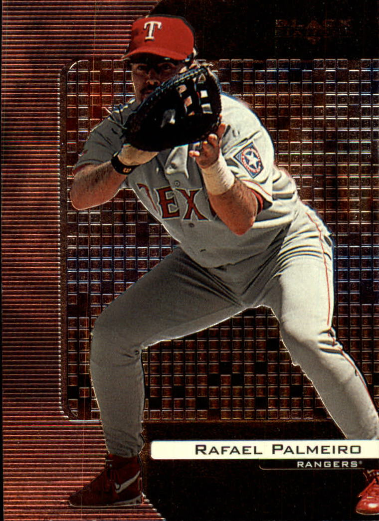 2000 Black Diamond #88 Rafael Palmeiro