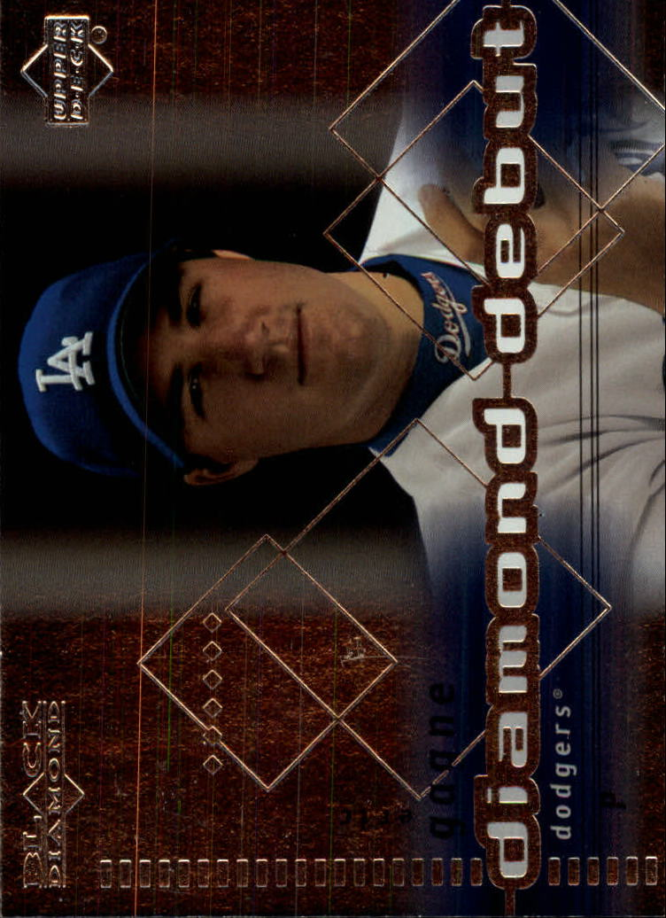 2000 Black Diamond #105 Eric Gagne DD