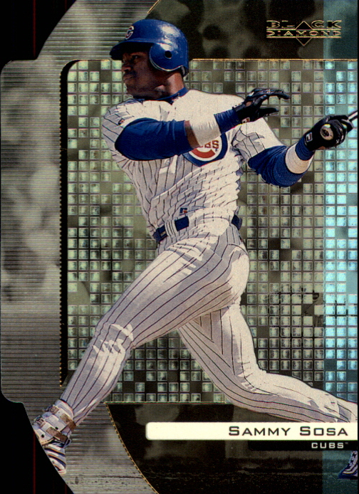 2000 Black Diamond Reciprocal Cut #18 Sammy Sosa