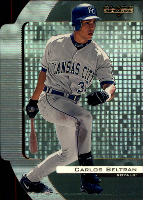 2000 Black Diamond Reciprocal Cut #40 Carlos Beltran