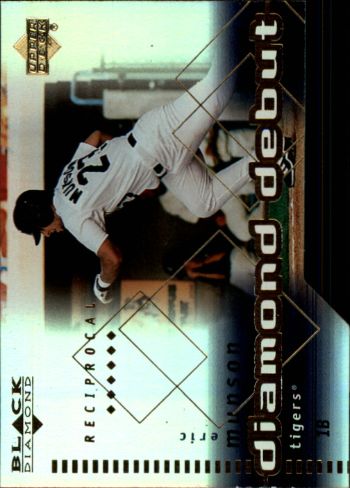 2000 Black Diamond Reciprocal Cut #92 Eric Munson DD